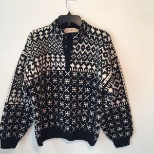 LL Bean Vintage Wool Sweater